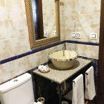 habitacion cuadruple baño completo hostal alcaidia salon