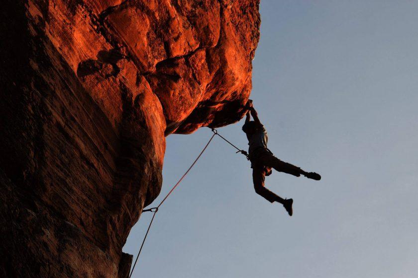 escalada sierra magina hostal