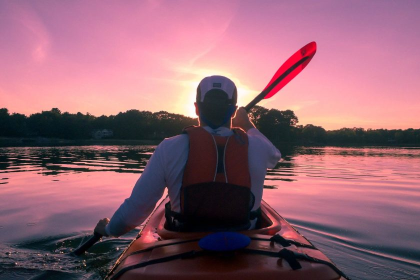 kayak en sierra magina
